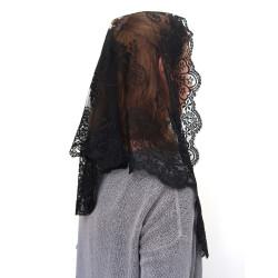 MA0002 ANGELYK corsets habillés Mantilla Etole Dreieck Aus Schwarzer Spitze