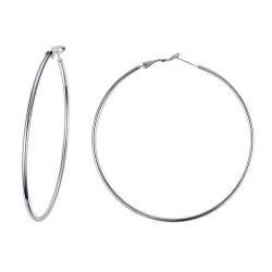 BOF0095 BOBIJOO JEWELRY Large earrings Rings hoop earrings Steel