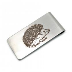 PB0013 BOBIJOO Jewelry Pince à billet Acier Inox Mat Motif au Choix
