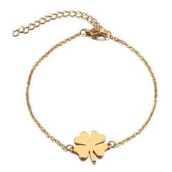 Bracelet Minimaliste Femme Acier Plaqué Or au Choix bobijoo