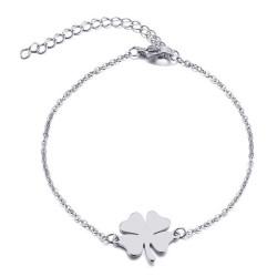 Bracelet Minimaliste Femme Acier Argenté au Choix bobijoo