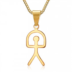 PE0183 BOBIJOO Jewelry Pendant Indalo Lucky Luck Symbol Spain