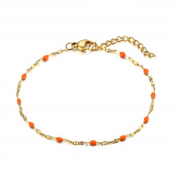 BR0272 BOBIJOO Jewelry Bracelet Minimalist Steel Gold Email Color Choice