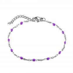 BR0272S BOBIJOO Jewelry Bracelet Minimalist Steel Email Color Choice