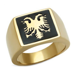 Ring Ring Two-Headed Byzantine Eagle