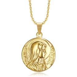 PE0265 BOBIJOO Jewelry Anhänger Wunder der Unbefleckten Empfängnis Gold
