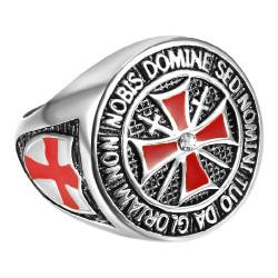 BA0178 BOBIJOO Jewelry Ring Currency Knight Templar All the Money