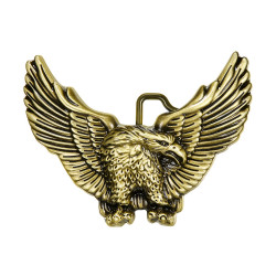 BC0001 BOBIJOO Jewelry Cufflinks Anchor Navy Gold