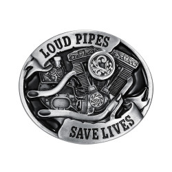 Boucle de Ceinture Loud Pipes Save Lives bobijoo