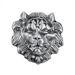 BC0021 BOBIJOO Jewelry Belt buckle Lion Head Fierce Power