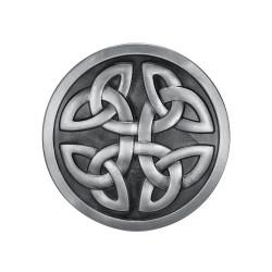 BC0028 BOBIJOO Jewelry Belt buckle Round Knots Celtic