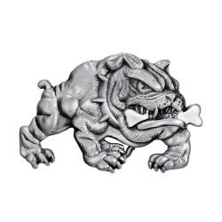 Boucle de Ceinture Bulldog Chien Féroce Biker bobijoo