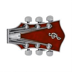 Boucle de Ceinture Guitare Electrique Rock Rouge bobijoo