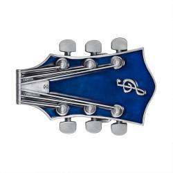 Boucle de Ceinture Guitare Electrique Rock Bleu bobijoo
