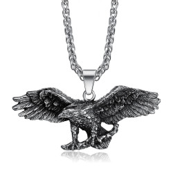 Pendentif Aigle Symbole USA Liberté Biker Triker bobijoo