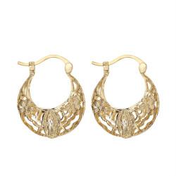 BOF0111 BOBIJOO JEWELRY Earrings Dangling Silver-tone Metal Flowers