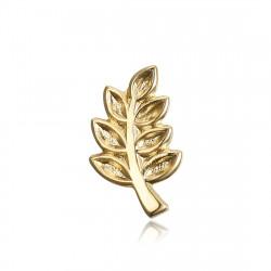 Pins Branche d'Acacia Franc-Maçon Doré à l'Or Fin bobijoo