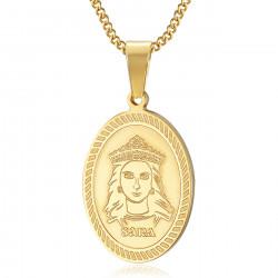 Pendentif Sainte Sara Or Saintes Maries de la Mer bobijoo