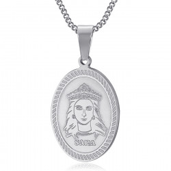 PEF0061S BOBIJOO Jewelry Pendant Medal Sara the Black Saintes Maries de la Mer