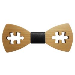 Noeud Papillon Bois Erable Puzzle Jeu bobijoo
