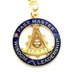 PCL0003 BOBIJOO Jewelry Key Ring Masonic Past Master