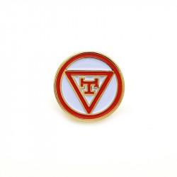 Pins Royal Arch Masonic Boutonnière Rond bobijoo