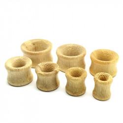 PIP0015 BOBIJOO Jewelry Plug Ecarteur Extenseur Bois Camel