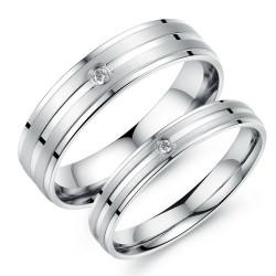 AL0033 BOBIJOO Jewelry Alliance Choice Of Stainless Steel, Zirconium Brushed