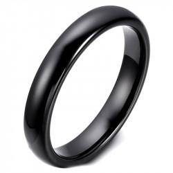 AL0035 BOBIJOO Jewelry Alliance Ring Black Ceramic 3mm Mixed