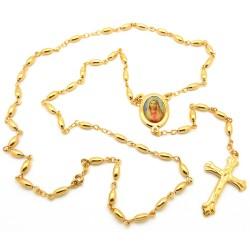 CP0025 BOBIJOO Jewelry Chapelet Doré à l'Or Fin Jaune Marie