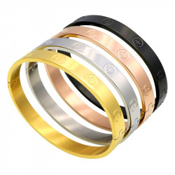 BR0095 BOBIJOO Jewelry Stainless Steel Bracelet Woman 4 Models to choose from