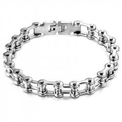 Bracelet Biker Chaine de Moto Acier Inoxydable bobijoo