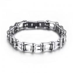 BR0131 BOBIJOO Jewelry Bracelet Chain Bike Steel