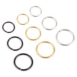 PIP0017 BOBIJOO Jewelry Faux Piercing Nez Oreille Lèvre 6, 8 ou 10mm (20G 0.8mm)